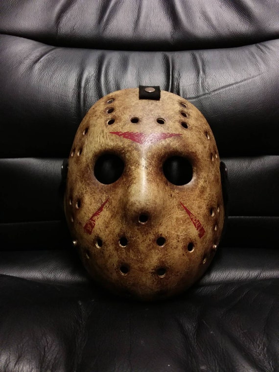 Halloween JASON VORHEES dipinto Maschera Da Hockey Venerdì Costume Accessorio 13th
