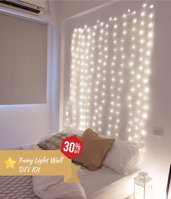 Fairy Light Wall DIY Kit -30% off NOW   Indoor String Lights   Party  Decorations   New Year Gift   Valentines Gift