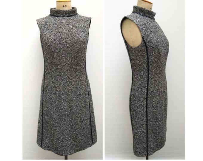 ESCADA pre-owned salt and pepper wool dress