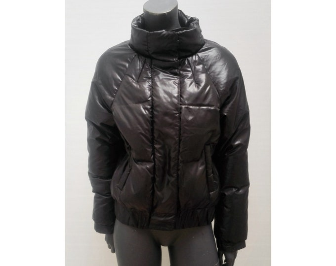 VANESSA BRUNO ATHE pre-owned black down puffer jacket