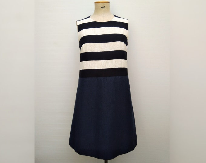 MAX MARA pre-owned A line nautical dress