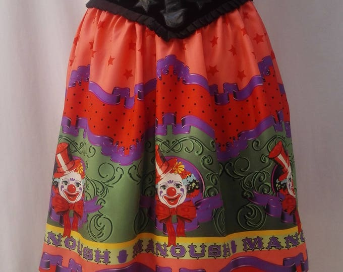MANOUSH 'circus' silk full skirt