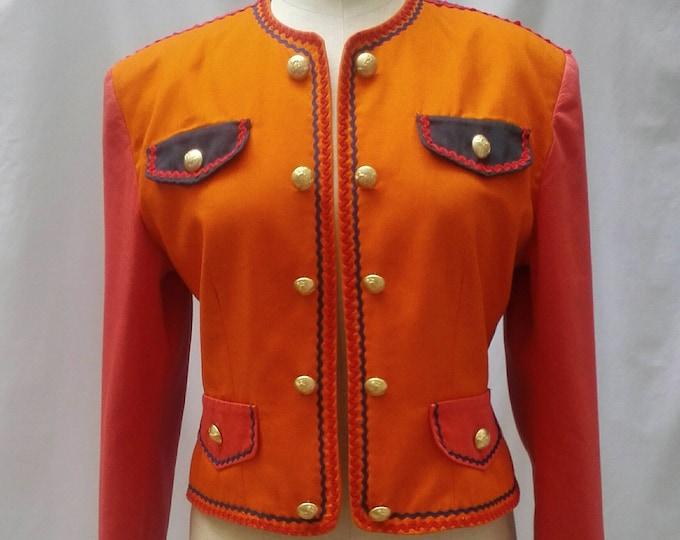 VERTIGO PARIS vintage 80s majorette style jacket