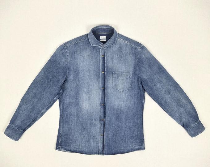BRUNELLO CUCINELLI pre-owned men's denim shirt