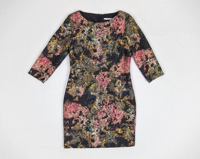 XANDRES pre-owned multicolor floral shift dress