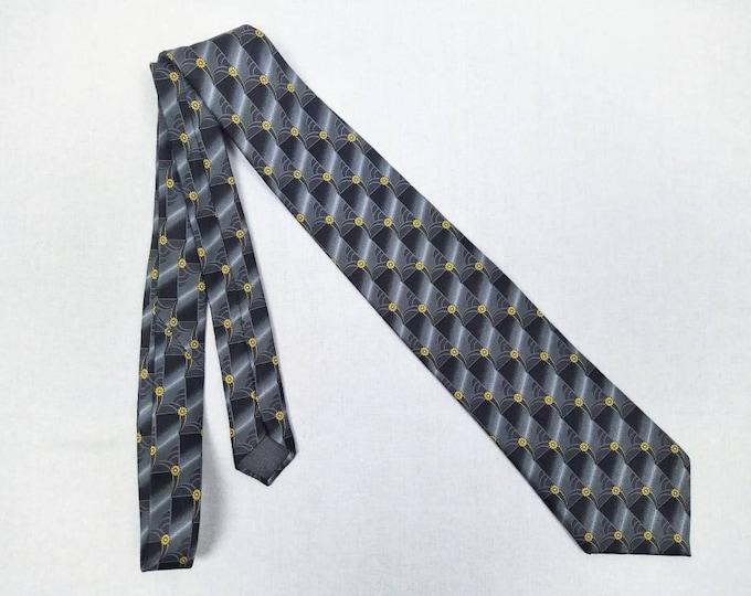 LANVIN vintage silk tie