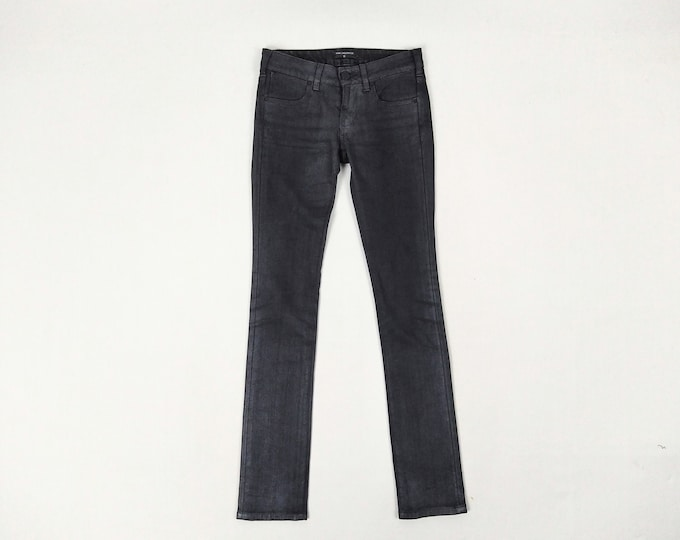 KARL LAGERFELD pre-owned women's anthracite slim jeans