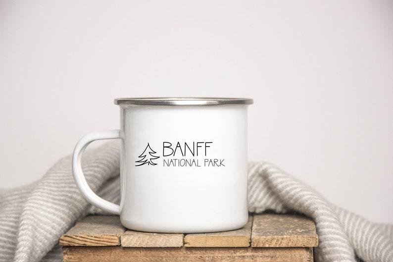 e769b52aa91 Banff Mug, Banff Gift, National Park Mug, National Park Gift, Gift for  Hiker, Hiking Mug, Camping Gift, Camp Mug, Canada National Park