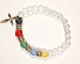 Scripture Bracelet, Salvation Bracelet, Prayer Bead Bracelet, Prayer Bracelet, Hidden Message Bracelet, Christian Bracelets, Christian Gift