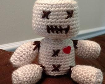 Crochet Voodoo Doll Etsy