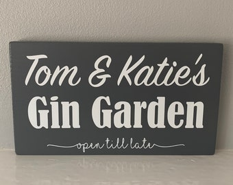 Gordons Gin Beer Spirits Old Sign Classic Vintage Advert Garden Shed Plaque