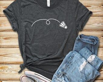 2cd33214 Badminton Birdie / Shirt / Hoodie / Tank Top / Badminton Shirt / Badminton  Gift / Badminton Player