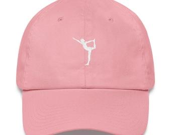 d71fb346 Yoga Pose / Dad Hat / Yoga Gift / Workout Hat / Meditation / Yoga Clothing  / Gifts for Yogis / Spiritual / Yoga Hat