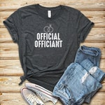 Official Officiant 2 / Shirt / Tank Top / Hoodie / Wedding Officiant Shirt / Wedding Minister / Marriage Officiant Shirt /Gift For Officiant