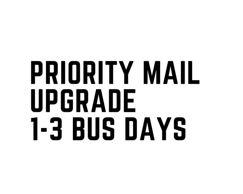 USPS Priority Mail Upgrade 1-3 Business Days  USA Domestic image 0