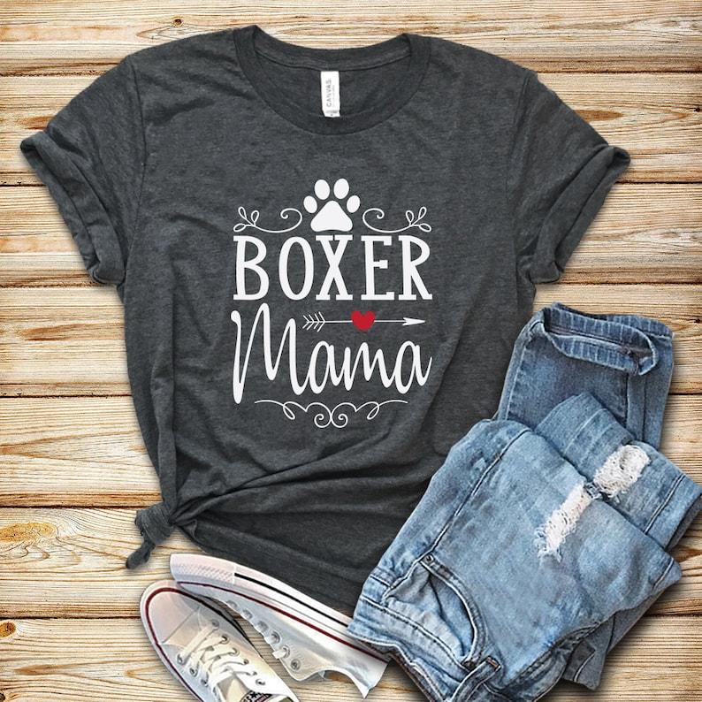 Boxer Mama / Shirt / Tank Top / Hoodie / Boxer Shirt / Boxer image 0