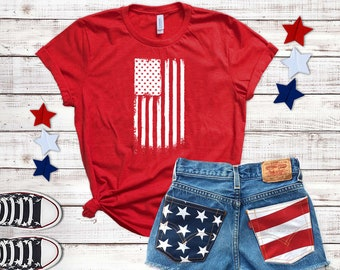 American Flag / Shirt / Tank Top / USA / 4th Of July Shirt / Fourth Of July / Patriotic Shirt / USA Shirt / Independence Day