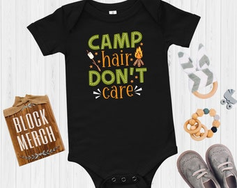 Camping Baby / Bodysuit / Baby Toddler T-shirt / Camper Baby Shirt / Camping Lover Baby Gift / Adventure Baby Shirt / Hiking Newborn Shirt
