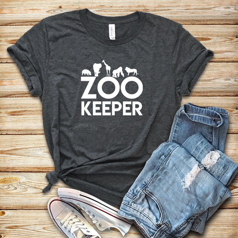 Zoo Keeper / Shirt / Tank Top / Hoodie / Zoo Keeper Shirt / image 0