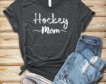 Hockey Mom / Unisex T-Shirt / Tank Top / Hoodie /  Hockey Shirt / Hockey Gift / Hockey T-Shirt / Mens Womens Hockey Shirts / Hockey Fan