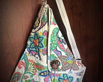 Crossbody Origami Handbag/Purse- One of a Kind -