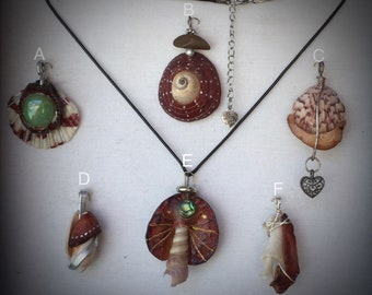 Puttin on the PITS- Avocado pendant necklaces.  One of kind! Made in USA