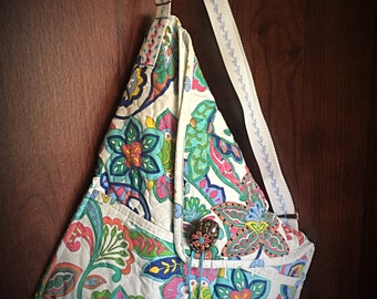 Crossbody Origami Handbag/Purse- One of a Kind -