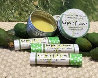 Lips of Love - Avocado Lip Balm