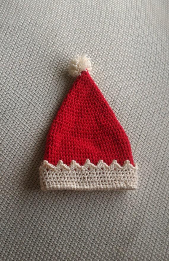 Crochet Christmas Hats Adults.Santa Hat Christmas Santa Santa Claus Christmas Hat Baby Santa Hat Child Santa Hat Adult Santa Hat Crochet Santa Hat Santa Prop