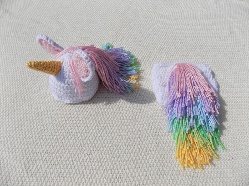 Unicorno vestito Baby unicorno cappello uncinetto copertura  981b32411866