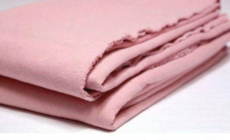 3f54ebbd47 Indi rosa francese terry maglia tessuto/tinta rosa colore | Etsy