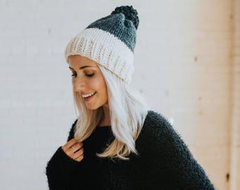 The LIV brim colourblock hat