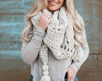 The OLIVIA chunky bandana scarf