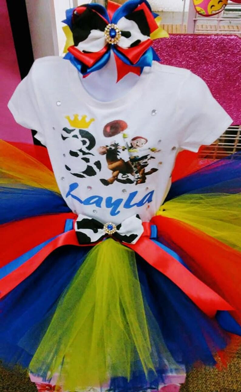 Jessie Toy Story Tutu Western Tutu Jessie Toy Story Birthday Tutu Jessie Toy Story Birthday Jessie Toy Story Tutu Set Cowgirl Tutu