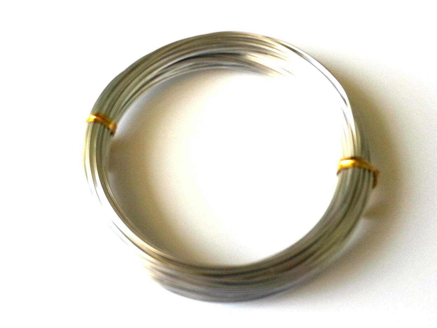 Aluminium wire 1mm - 18 gauge wire - 20 metres - gold wire - silver ...