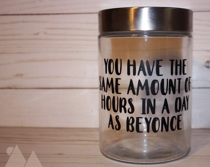 Beyonce Jar