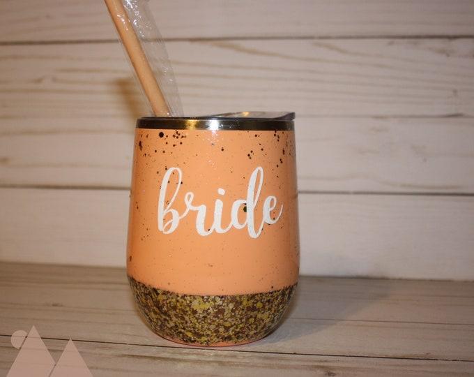 Bride Wine Tumbler
