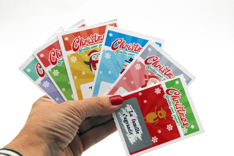 Ticket jeu à gratter Christmas Spécial Noël | Créatrice : Lachouettemauve | A découvrir sur le blog : keepcoolnewmom.com