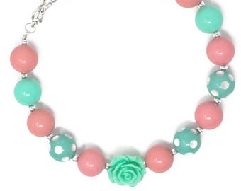 Easter chunky necklace. Free shipping USA