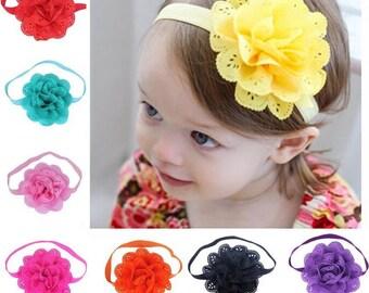 Flower Headbands 8 PC Set Free shipping USA