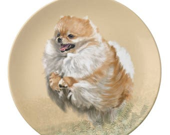 Porcelain Plate, Pomeranian