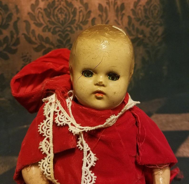 Antique Haunted Mystic Doll Saderak Darkling Doll