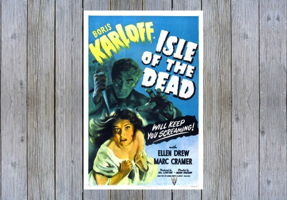 1934 The Lost Patrol Boris Karloff Horror movie poster print 4