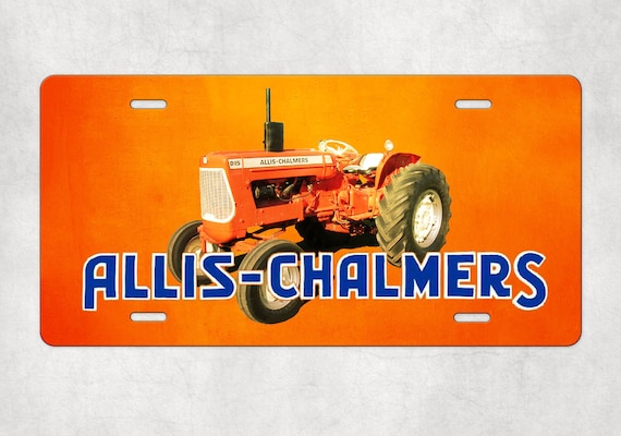 Allis Chalmers D 15 Tractor License Plate Etsy