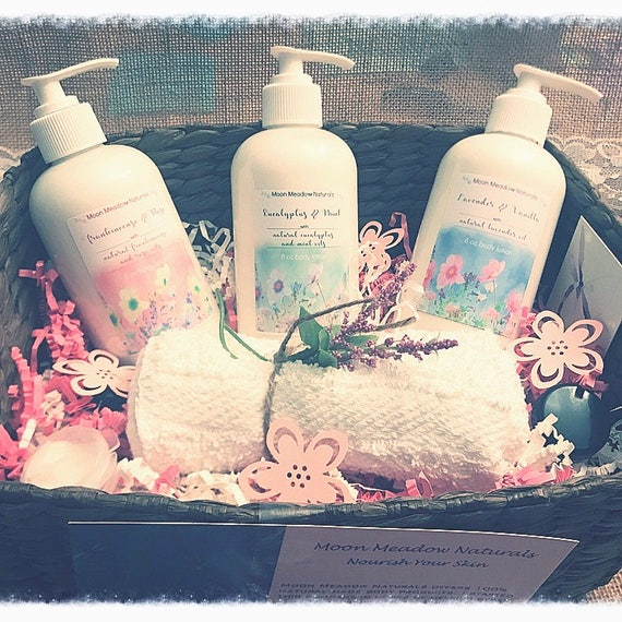 Organic Lotion Gift Baskets & Gift Bags Nourish your skin all natural lotion dry skin relief, Moisturize with Shea Butter and rich oils