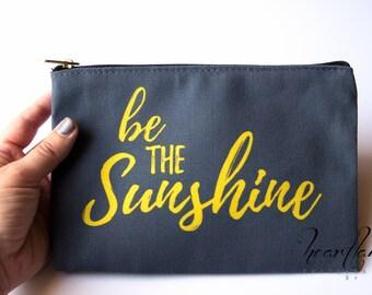 4d475daa1454 Teen Girl Gifts Makeup Bag With Saying