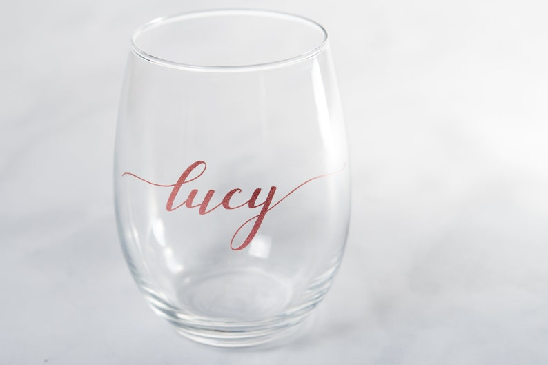 Oz. Stemless Wine Glass