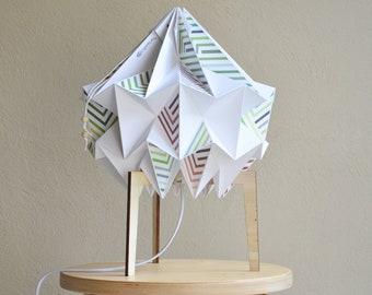 Table lamp - SNOW stripes