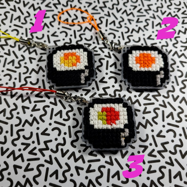 Sushi Cellphone Charms