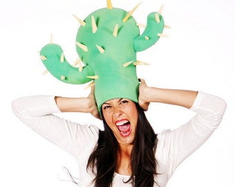 How to make a Funky cactus , great for parties & costumes